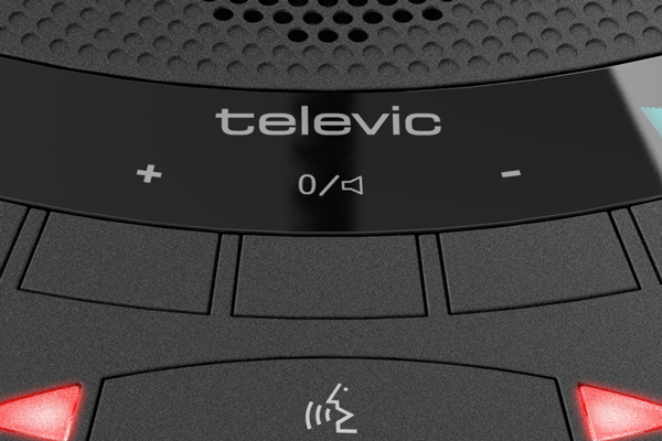 Televic Confidea T-CV Wired Chairman Unit. Built-in speaker. Prior Next. 3 voting. RFID No mic incl.